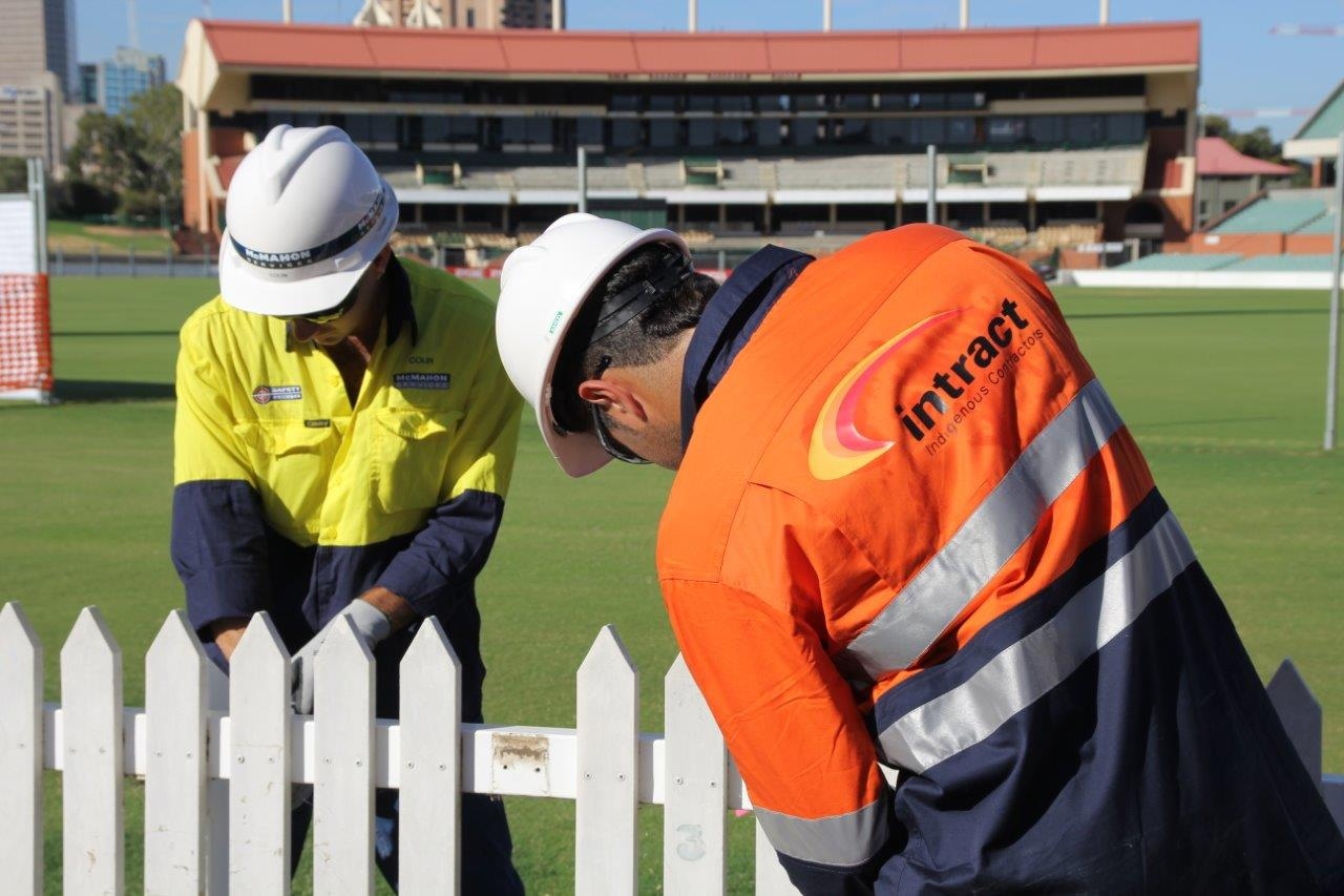 Intract Training at Adelaide Oval