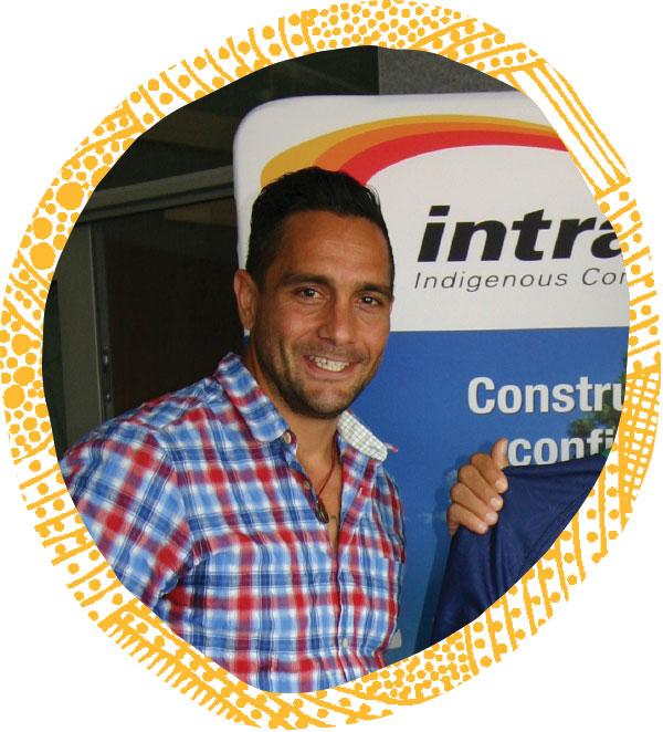 Andrew McLeod, Team Manager – Gumatj Cavailers – Intract Indigenous Contractors