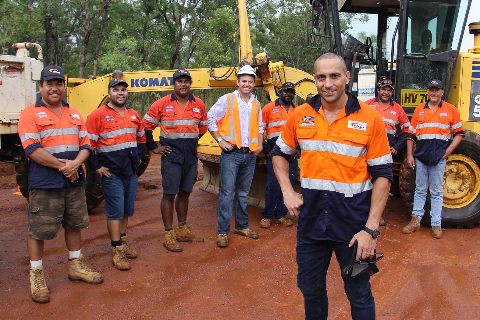 Construction Andrew McLeod Site Visit
