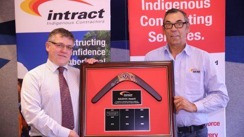 Intract 'Closing the Gap' NAIDOC Award