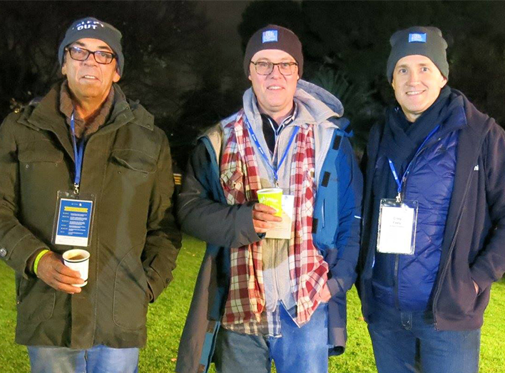 St Vinnies CEO Sleep Out