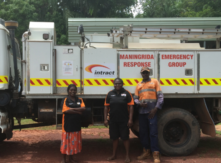 Maningrida Fire truck