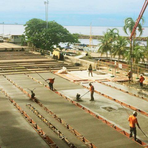 HMAS Coonawarra Ship Yard Rail Replacement