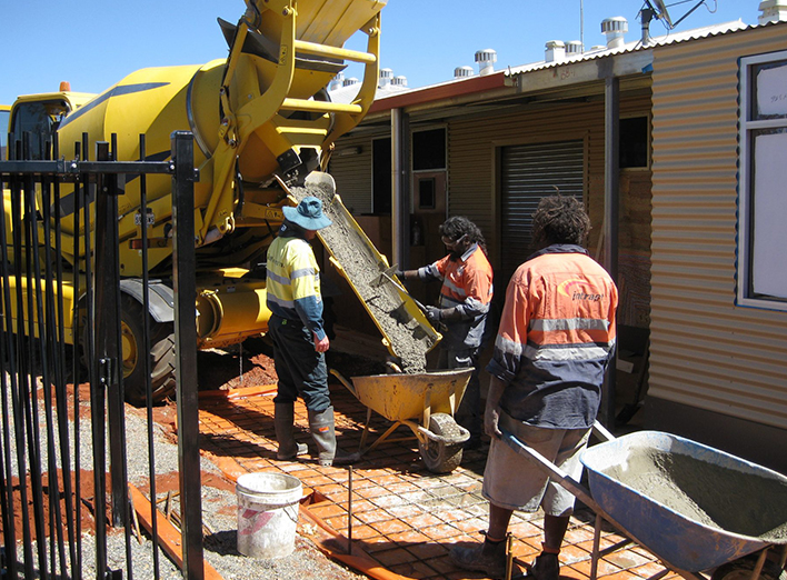 building construction australia